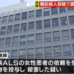 大久保愉一容疑者・山本直樹容疑者の病院はどこ?京都市内のALS患者の安楽死問題