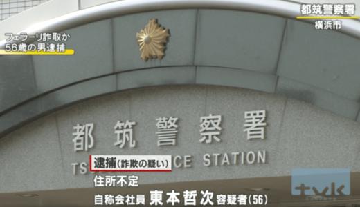 東本哲次容疑者のFacebookから顔画像と会社を特定!?男塾作者からフェラーリを盗み逮捕!!