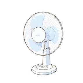 扇風機を冷風にする方法9選!!簡単に冷風になるアイデアを紹介!